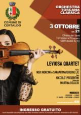 Leviosa Quartet in concerto, locandina