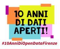 Dieci anni di open data, immagine dal sito del Comune di Firenze