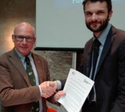 Francesco Miari Fulcis, presidente di Confagricoltura Toscana con Matteo Biffoni, presidente Anci Toscana