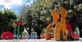Nuove aree giochi ai giardini pubblici