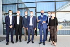 Visita Ministro Andrea orlando a Empoli partendo dalla SESA
